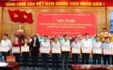 Khen thưởng 16 tổ chức cơ sở Đảng trong công tác xây dựng Đảng năm 2020