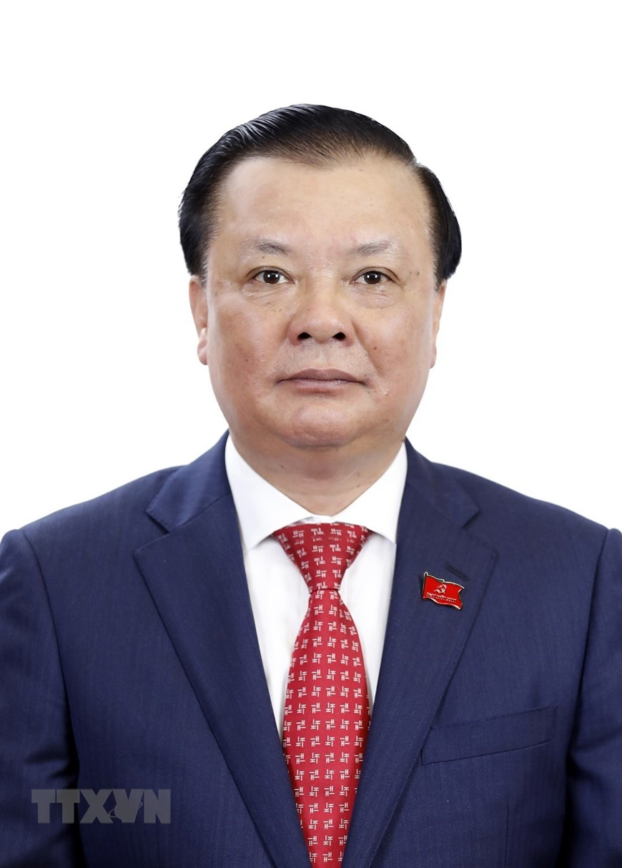 Đồng chí Đinh Tiến Dũng, Bộ trưởng Bộ Tài chính. (Ảnh: TTXVN)