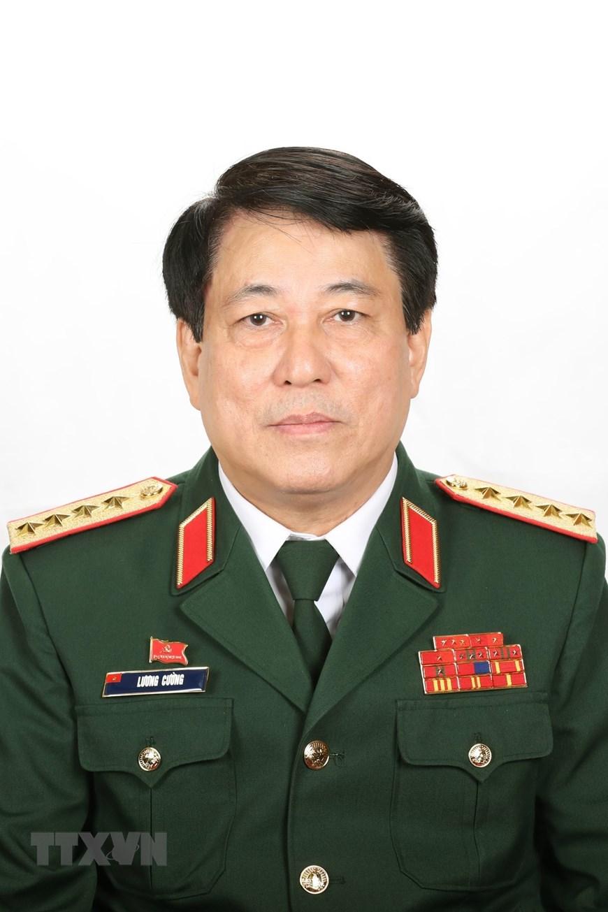 Đồng chí Lương Cường, Chủ nhiệm Tổng cục Chính trị Quân đội nhân dân Việt Nam. (Ảnh: TTXVN)