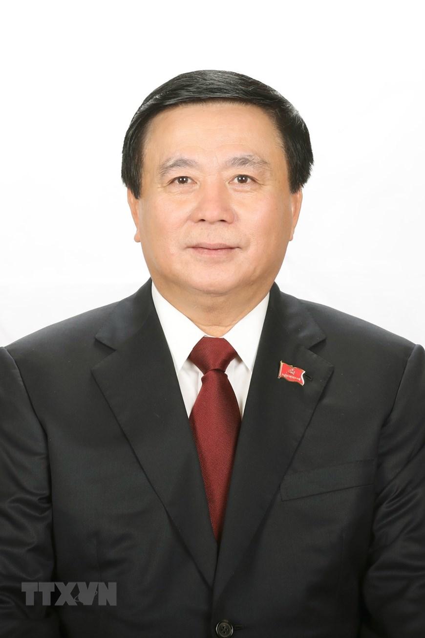 Đồng chí Nguyễn Xuân Thắng, Giám đốc Học viện Chính trị Quốc gia Hồ Chí Minh, Chủ tịch Hội đồng Lý luận Trung ương. (Ảnh: TTXVN)