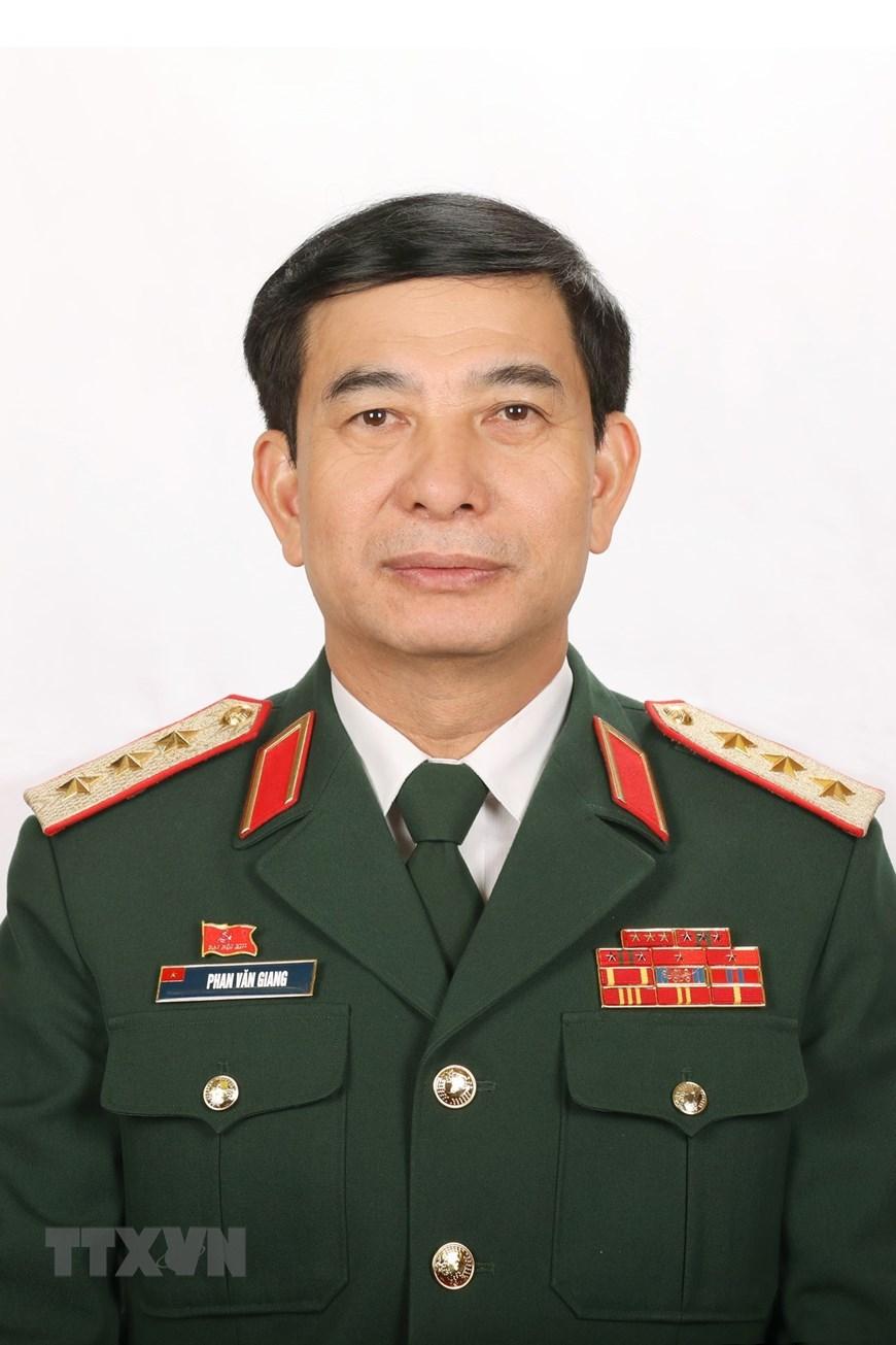 Đồng chí Phan Văn Giang, Tổng Tham mưu trưởng Quân đội nhân dân Việt Nam. (Ảnh: TTXVN)