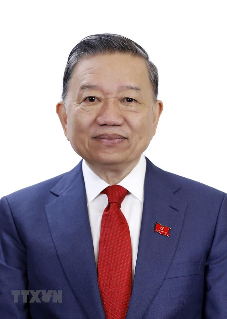 Đồng chí Tô Lâm, Bộ trưởng Bộ Công an. (Ảnh: TTXVN)