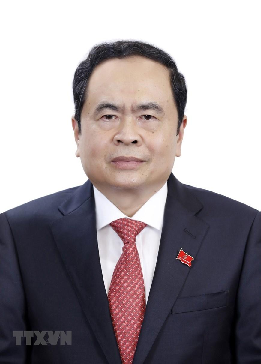 Đồng chí Trần Thanh Mẫn, Chủ tịch Ủy ban Trung ương Mặt trận Tổ quốc Việt Nam. (Ảnh: TTXVN)