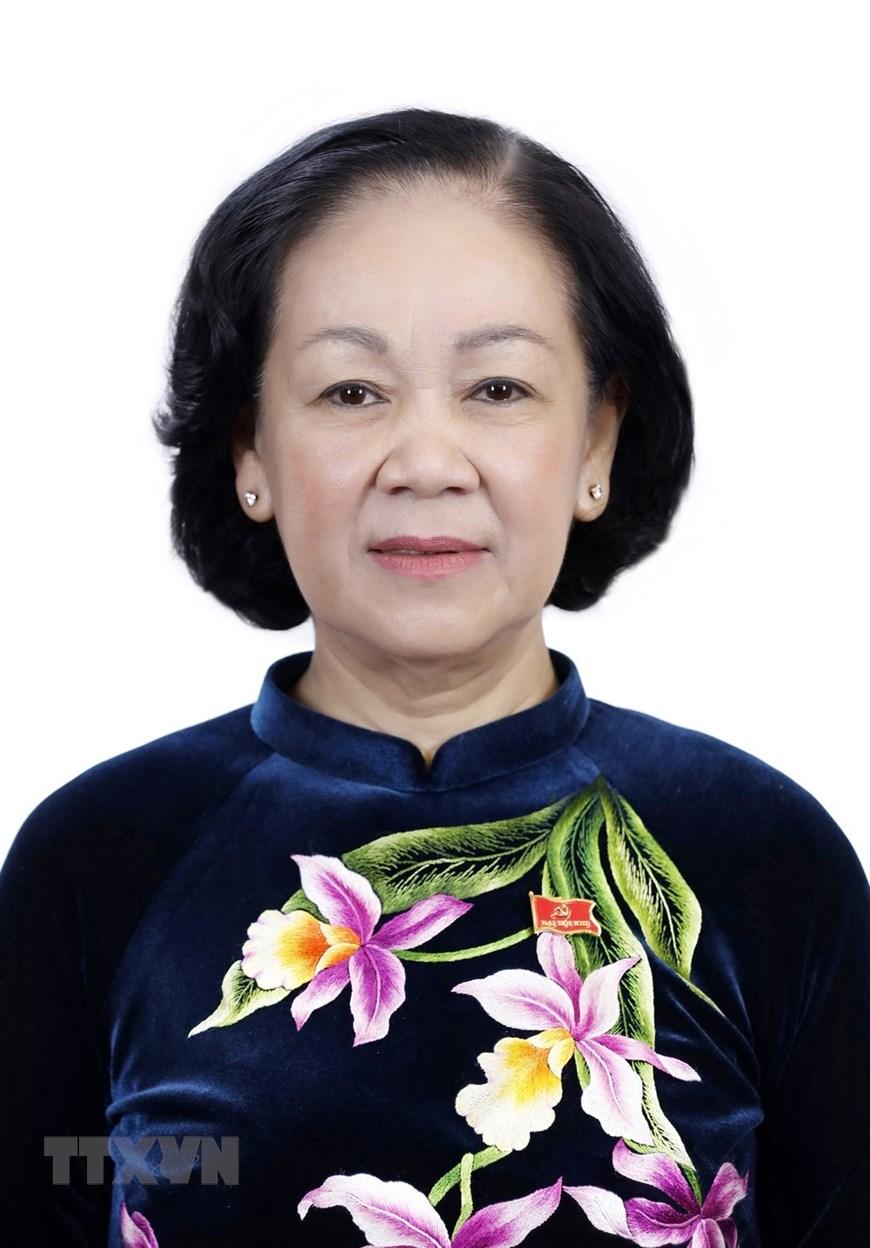 Đồng chí Trương Thị Mai, Trưởng Ban Dân vận Trung ương. (Ảnh: TTXVN)