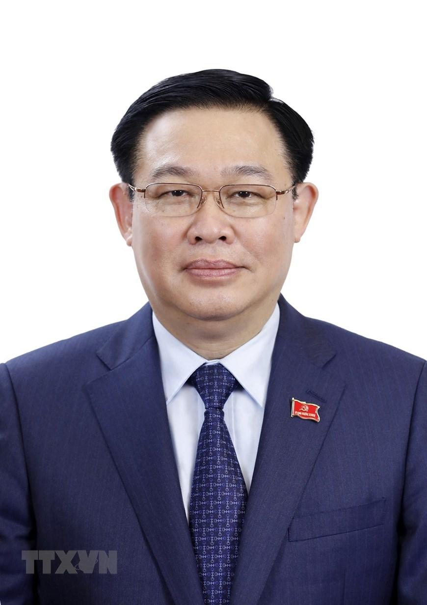 Đồng chí Vương Đình Huệ, Bí thư Thành ủy, Trưởng Đoàn đại biểu Quốc hội khóa XIV thành phố Hà Nội. (Ảnh: TTXVN)
