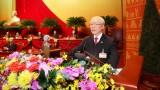 Tổng Bí thư Đảng Nhân dân Cách mạng Lào gửi điện chúc mừng Tổng Bí thư Nguyễn Phú Trọng