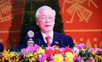 """""""Ban Chấp hành Trung ương khoá mới xin hứa sẽ là khối đoàn kết thống nhất cao"""""""