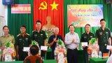 Chủ tịch UBND tỉnh – Nguyễn Văn Út thăm, chúc tết các đơn vị trên tuyến biên giới huyện Vĩnh Hưng