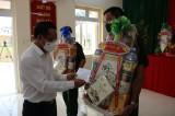 Bí thư Tỉnh ủy - Nguyễn Văn Được thăm, chúc tết lực lượng làm nhiệm vụ trên tuyến biên giới