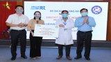 Cty CP Công nghệ viễn thông Sài Gòn tặng 1.000 Kit test xét nghiệm SARS-CoV-2 cho Long An