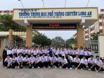 Học sinh giỏi quốc gia THPT mang vinh quang về cho tỉnh nhà