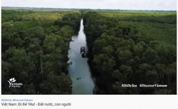 VNAT's video clip promotes Vietnam's natural beauty