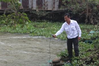 Chủ động được nguồn nước ngọt phục vụ sản xuất