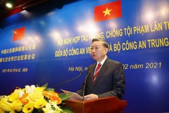 Việt Nam - Trung Quốc hợp tác phòng chống tội phạm
