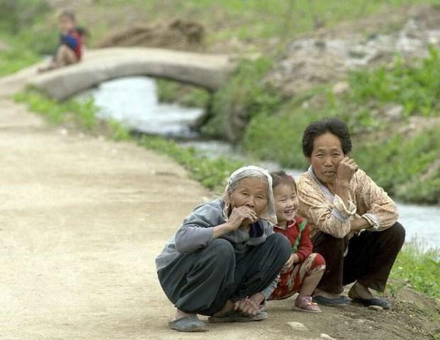 Người nghèo tại Triều Tiên. (Ảnh: EFA News)