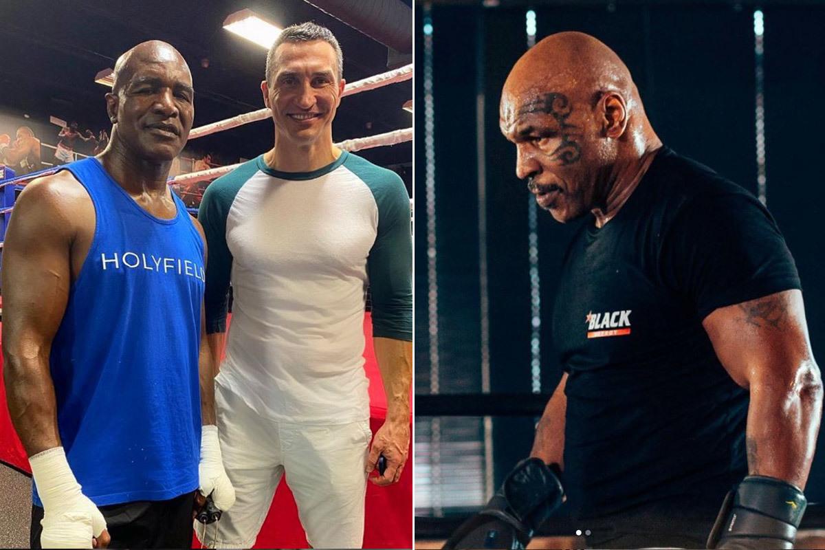 Holyfield lẫn Mike Tyson đều tập luyện kỹ lưỡng