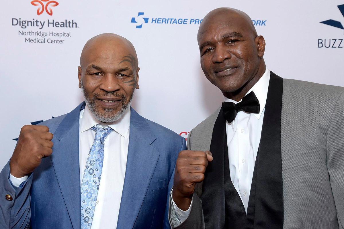 Mike Tyson và Holyfield đều mong chờ cuộc đấu thứ 3 giữa hai người