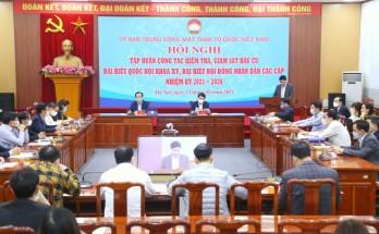 Mặt trận Tổ quốc Việt Nam tập huấn về giám sát bầu cử