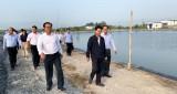 Bí thư Tỉnh ủy Long An – Nguyễn Văn Được làm việc tại huyện Tân Hưng