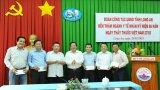 Chủ tịch UBND tỉnh Long An – Nguyễn Văn Út thăm ngành Y tế nhân ngày 27/02