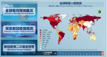 Trung Quốc phát triển hệ thống dự báo Covid-19 toàn cầu đầu tiên trên thế giới