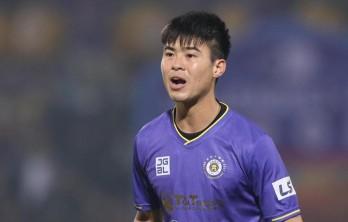 Duy Mạnh quyết tâm cùng Hà Nội FC thoát bét bảng ngày V-League trở lại