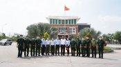 Phó Chủ tịch UBND tỉnh - Nguyễn Minh Lâm thăm lực lượng làm nhiệm vụ phòng, chống dịch Covid-19 trên tuyến biên giới