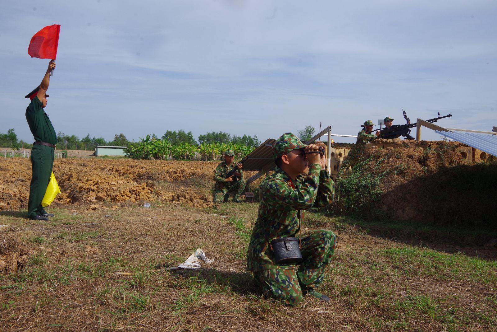 Thời gian qua, trình độ, năng lực, sức chiến đấu của lực lượng vũ trang tỉnh không ngừng nâng lên