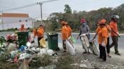 Bến Lức: Quan tâm thu gom, xử lý rác sinh hoạt