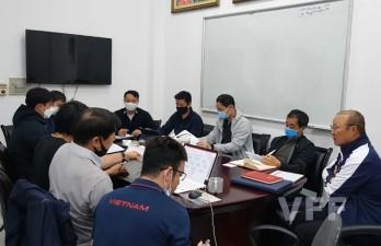 HLV Park Hang Seo họp bàn với trợ lý, gửi lời thỉnh cầu tới VFF