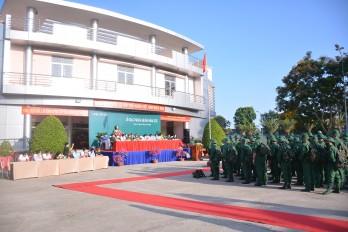 160 thanh niên ưu tú huyện Cần Giuộc lên đường nhập ngũ