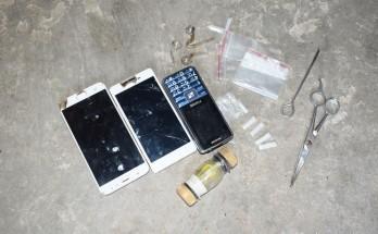Công an huyện Tân Thạnh bắt quả tang 2 vụ tàng trữ trái phép các chất ma túy