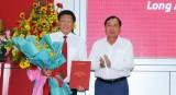 Công bố Quyết định bổ nhiệm lại chức vụ Giám đốc Agribank Chi nhánh tỉnh Long An