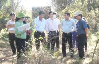 HĐND tỉnh Long An khảo sát 2 khu di tích khảo cổ học Bình Tả và An Sơn