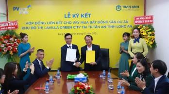 PVcomBank và Trần Anh Group ký kết hợp tác tài trợ tín dụng khách hàng vay vốn tại dự án Lavilla Green City