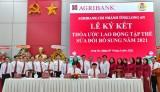 Agribank Chi nhánh tỉnh Long An tổ chức hội nghị người lao động