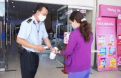 Co.opmart Tân An chấn chỉnh công tác phòng, chống dịch Covid-19