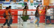 TP.Tân An kiểm tra công tác phòng dịch Covid-19 tại siêu thị, trung tâm thương mại