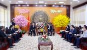 Tổng Lãnh sự quán Indonesia chào tạm biệt lãnh đạo tỉnh Long An
