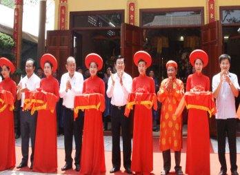 Khánh thành và trao bằng xếp hạng Di tích lịch sử - văn hóa cấp tỉnh Đình Vạn Phước