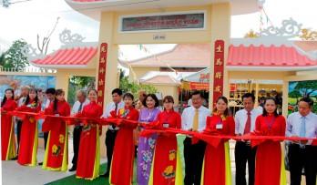 Khánh thành Di tích Đình Tân Chánh và Lăng mộ Nguyễn Khắc Tuấn