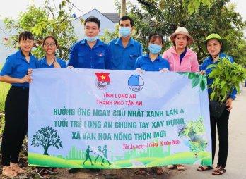 Nữ cán bộ Đoàn duy nhất của Long An nhận giải thưởng Lý Tự Trọng năm 2021