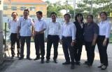Ban Tuyên giáo Tỉnh ủy khảo sát việc thực hiện Nghị quyết 08-NQ/TW của Bộ Chính trị tại huyện Cần Giuộc