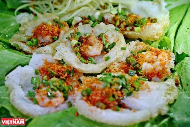 Đặc sản bánh khọt Vũng Tàu. (Nguồn: Báo ảnh Việt Nam)