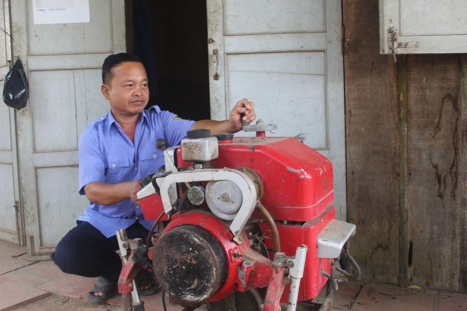 Lực lượng làm công tác phòng cháy, chữa cháy ở Khu di tích lịch sử Cách mạng tỉnh ít nên việc phòng cháy, chữa cháy gặp nhiều khó khăn