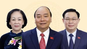13 Ủy viên Bộ Chính trị, Ban Bí thư giữ chức vụ mới từ sau Đại hội XIII