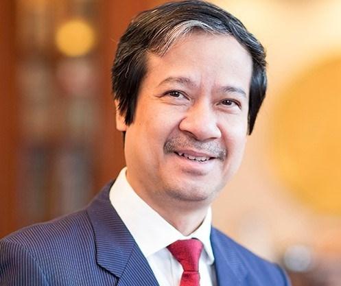 Tân Bộ trưởng Bộ Giáo dục và Đào tạo Nguyễn Kim Sơn. (Ảnh: PV)