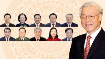 Danh sách Ban Bí thư Trung ương Đảng khoá XIII