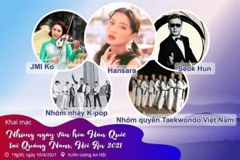 Đặc sắc Những ngày văn hóa Hàn Quốc tại Quảng Nam năm 2021