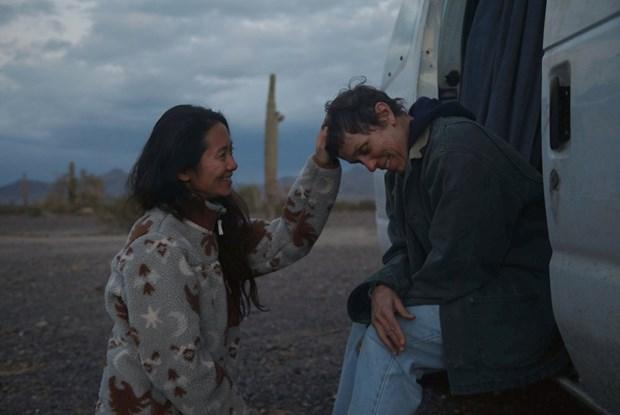 Một cảnh trong phim 'Nomadland.' (Nguồn: AP)
